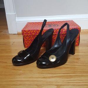 a4d2dc9ad08f Women s Tory Burch Slingback Heels on Poshmark